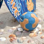 Trainingen U18 en U16 Beach teams