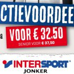 Speciale Leden Actie Intersport Jonker