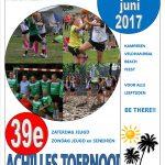 UPDATE 8 juni – Wedstrijdprogramma Achilles Toernooi 2017