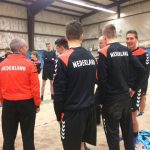 Training Nederlandse handbalbeach selectie