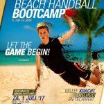 Strong Men Beach Handball Bootcamp op 1 juli in Apeldoorn