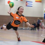 Sportieve handbalinstuif