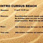 Intro cursus beach