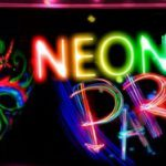 Geweldige Neon Party